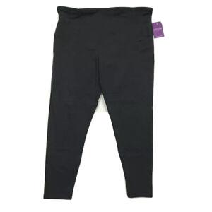 Yummie By Heather Thomson Womens Rachel Shapewear Leggings Black Plus 3X New