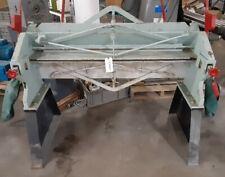 "Chicago S-416 48"" 4' x 16 ga. Steel Foot Bending Press Brake"