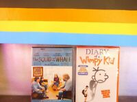 Lot Of Two The Squid and the Whale / Diary of a Wimpy Kid  (DVD, New Sealed