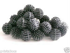 "800 JUMBO 1.5"" Bio Balls- Pond Filter Media-4 Koi Biofilter-Bioballs-fish-water"