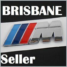 M BADGE For BMW Emblem Decal TECH M POWER Performance MSport 328i 335i 520d 530i