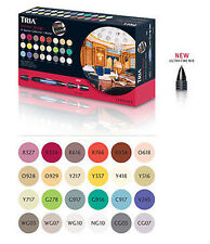 Letraset Tria Marker - 24 Pen Set - Interior Design