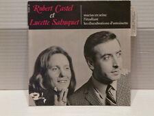 ROBERT CASTEL LUCETTE SABUQUET Macias en scene 70991 M Neuf état exceptionnel!