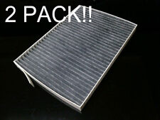 Charcoal activated cabin filter for Renault 2008-2012 Koleos 2Pack NEW