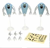 Hover Robot 3 Pack 2015 Motu Masters Of The Universe Classics He Man Rareza
