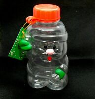 Candy Container Christmas Ornament Vintage Santa Claus Russ Hard Plastic