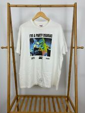 VTG I'm A Party Maniac Frankenstein Universal Studios Single Stitch T-Shirt XL