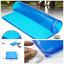 Blue DIY Modified 2cm Thickness Motorcycle ATV Seat Cushion Polyurethane Gel Mat