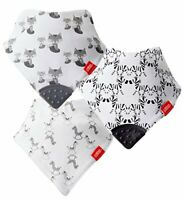 Nuby Bandana Teething Bibs, Pack of 3