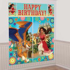 Elena of Avalor Scene Setter Wall Decorating Kit Girls Birthday Party Supplies