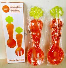 Balvi 24803 Design Salad Servers 2-Piece Fresh Carrots Carrot. New in box
