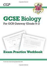 New Grade 9-1 GCSE Biology: OCR Gateway Exam Practice Workbook New Paperback Boo