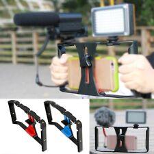 Smartphone Stabilizer Video Rig Filmmaking Recording Vlog Case Mount for Phone