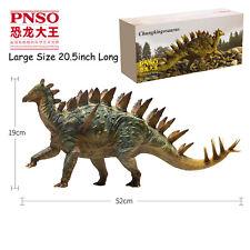20'' Pnso Rare Chungkingosaurus Dinosaurs Model Science Art Stegosaurus Figure