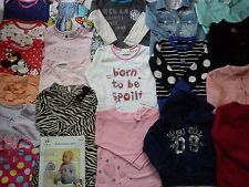 NEW USED NICE 59 NEXT CLARKS ADIDAS BUNDLE BABY GIRL CLOTHES 12/18 MTHS 18/24M 7