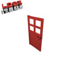 1 x [neu] LEGO Tür 1 x 4 x 6 mit Griff - rot - 60623