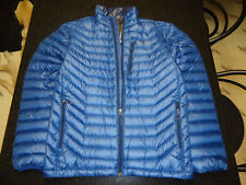 MARMOT QUASAR 850 FILL GOOSE DOWN JACKET MEN'S MEDIUM (M) BLUE SAPPHIRE SRP $325