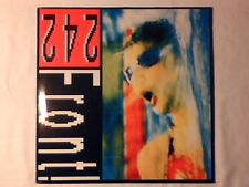 """FRONT 242 Never stop! 12"""" GERMANY COME NUOVO LIKE NEW!!!"""