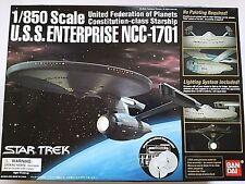1/850 U.S.S. ENTERPRISE NCC-1701 Star Trek BANDAI