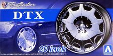 "Aoshima 1/24 Trafficstar DTX 20""  Wheel Rims & Tire Set for Models 5426 (62)"