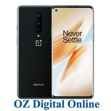 New OnePlus 8 IN2010 128GB Black 8GB 5G OxygenOS Unlocked One Plus Phone 1Yr Wty