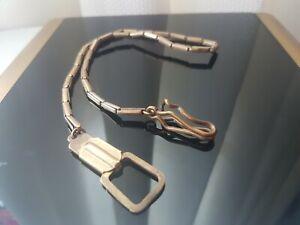 Antique Gold Gilt Watch Chain