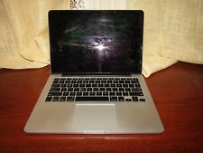 "Apple MacBook Pro A1502 13.3"" Laptop MGX72LL 2014 Core i5 2.6 8gb As Is"