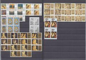 Vatikan Jahrgang 1977, komplette postfrische 4er Block Sammlung **