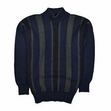 Alan Paine Herren Pullover Sweater Strick Gr.40 100% Lamm Wolle Gestreift 87832