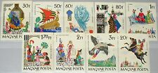 HUNGARY UNGARN 1965 2184-92 B 1716-24 IMPERF Fairy Tales Arabian Nights Märchen