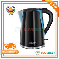Russell Hobbs Mode Electric Jug Kettle 1.7 L 3000W LED Illuminated Black, 21400