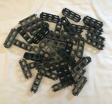 Lot of 43 Rokenbok Toy Company Black 3-block long building blocks