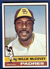 1976 Topps Baseball Willie McCovey #520 San Diego Padres EX-MT