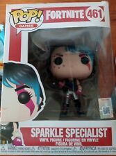 Funko Pop! Games: Fortnite SPARKLE SPECIALIST #461Vinyl Figure with Stand