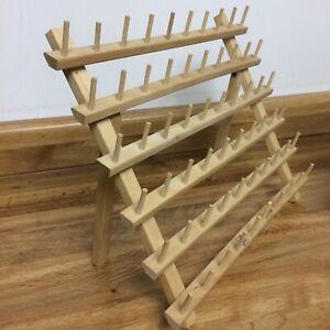 June Tailor Mini Mega-Rack Wood Holds 60 Spools