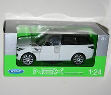 Welly - RANGE ROVER SPORT (White) Die Cast Model - Scale 1:24