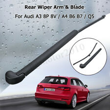 13'' Rear Windscreen Window Wiper Arm Blade For Audi A3 8P 8V A4 B6 B7 Q5 CA
