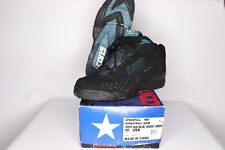 Vintage 90s New Converse Mens 10.5 Speedpull Mid Cons Basketball Shoes Black
