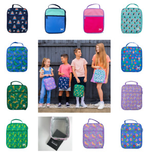 NEW MontiiCo Insulated Lunch Bag - Large size 28cm x 23.5cm - Inc Ice Pack