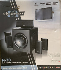 NEW NOLYN ACOUSTICS 5.1 N-70 HOME THEATER SYSTEM - NIB/ OPEN BOX