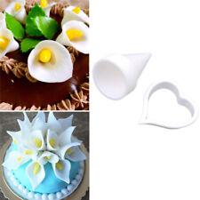 7z Calla Lily Cake Modelling Cutter Gum Paste Cake Decor Fondant Bake Supply HS
