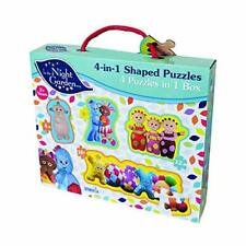 In the Night Garden 7775 4 in 1 Puzzle Set