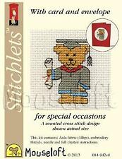 Mouseloft Stitchlets For Special Occasions With Card and Envelope Graduation Ted