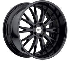 19x8.5 TSW Monaco 5x112 Rims +43 Matte Black Wheels (Set of 4)