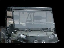 """2016 Polaris Ranger 570 Full Size Tinted Folding Windshield. A Full 1/4"""" THICK!"""