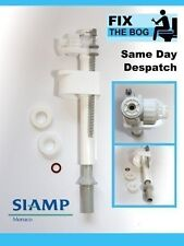 SIAMP Compact 99b WC Toilet Cistern Bottom Entry Inlet Valve 1/2 Inch Plastic