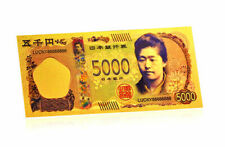 "★★ JAPON / JAPAN : BILLET POLYMER  "" OR "" DE 5000 YEN ★★"