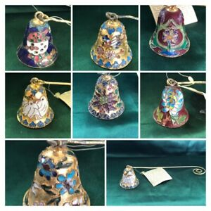 ASSORTED GANZ CLOISONNE CANDLE SNUFFERS - YOU CHOOSE!