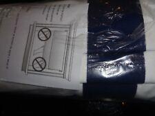 1 Pottery Barn Grosgrain Ribbon Roman shade cordless ink blue 26 64 New