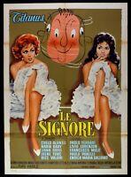 Poster die Lord Chelo Alonso Nadia Gray Liana Orfei Irene Tunc Ferrari M27